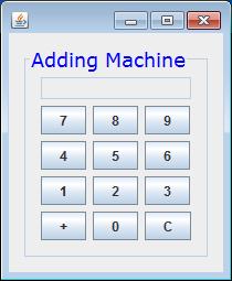 AddingMachine